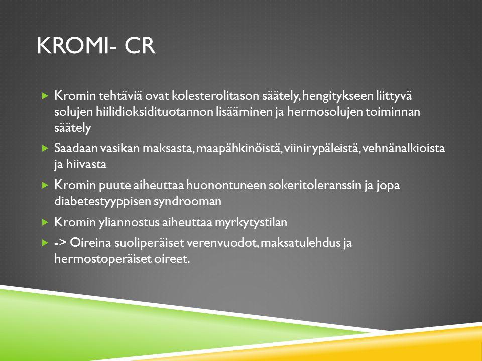Kromi- Cr