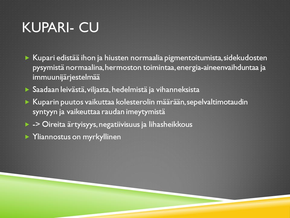 Kupari- Cu