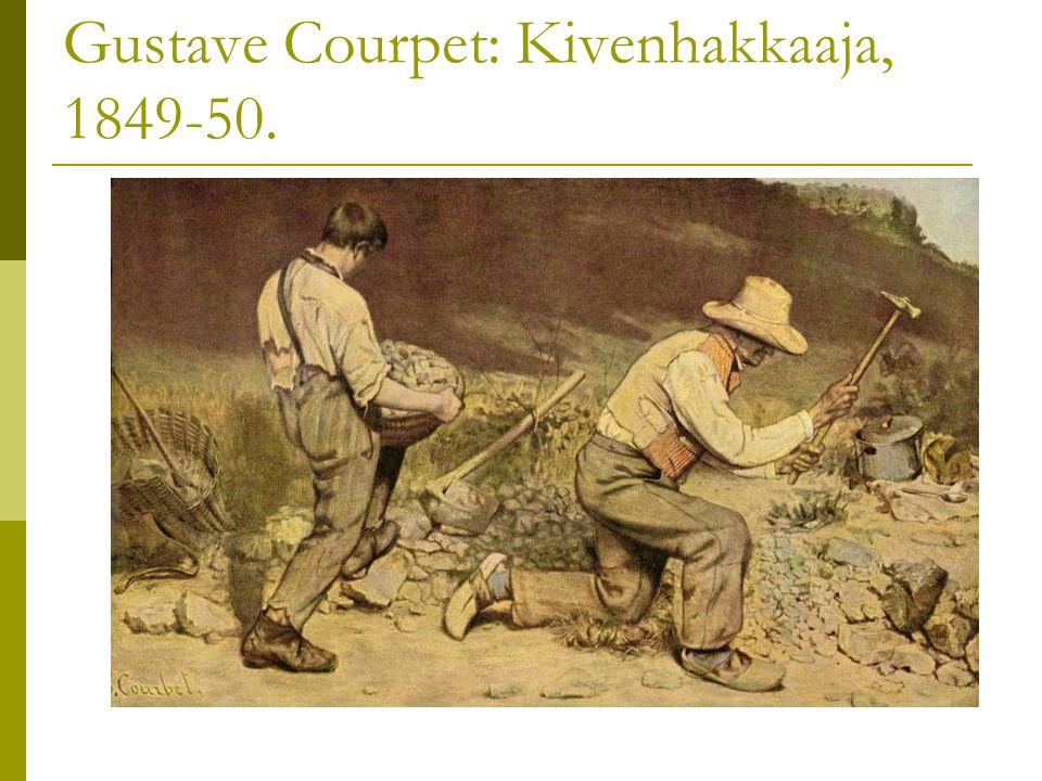 Gustave Courpet: Kivenhakkaaja, 1849-50.