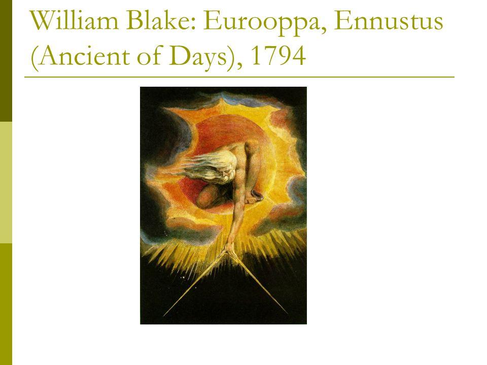William Blake: Eurooppa, Ennustus (Ancient of Days), 1794