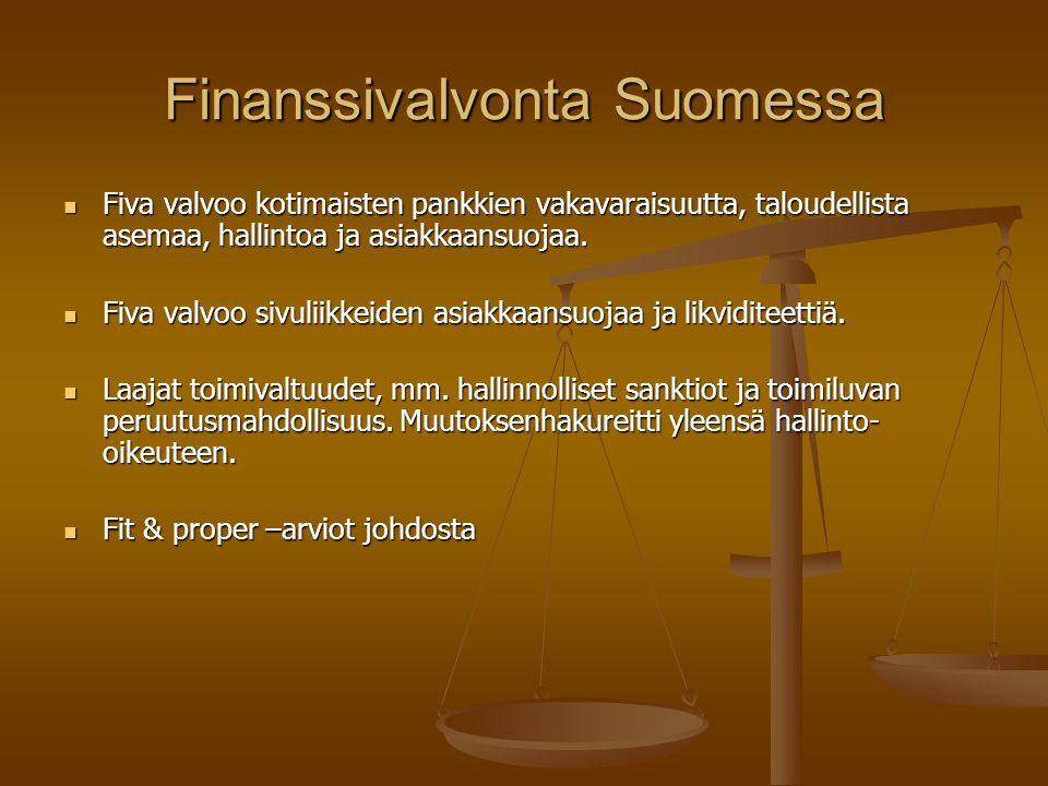 Finanssivalvonta Suomessa