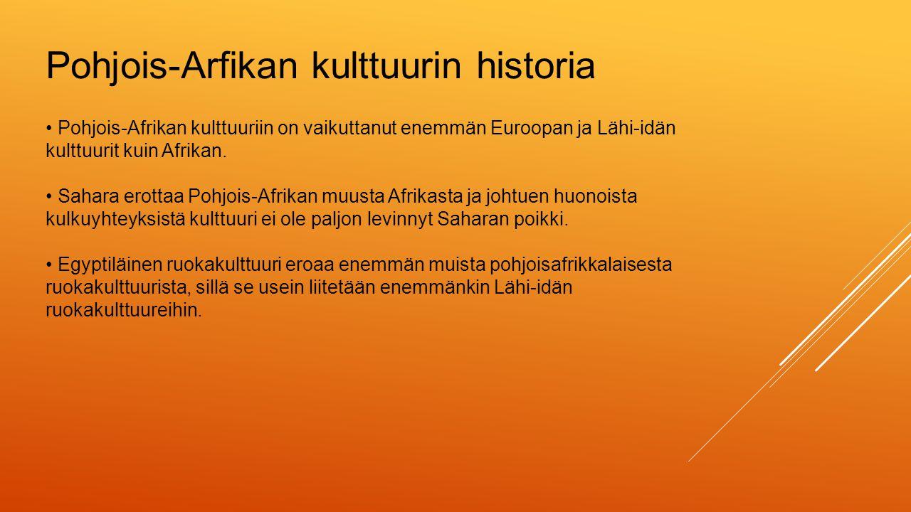 Pohjois-Arfikan kulttuurin historia