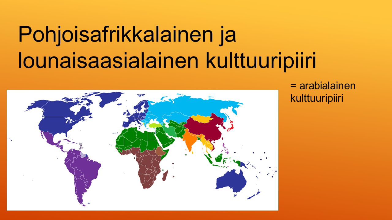 Pohjoisafrikkalainen ja lounaisaasialainen kulttuuripiiri