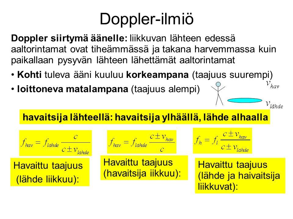 Doppler-ilmiö