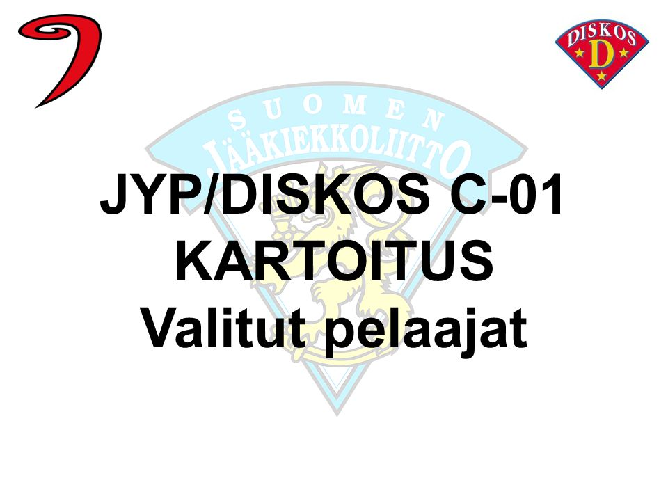 JYP/DISKOS C-01 KARTOITUS