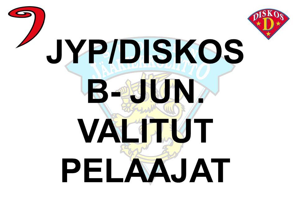 B- JUN. VALITUT PELAAJAT