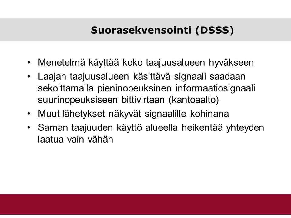 Suorasekvensointi (DSSS)