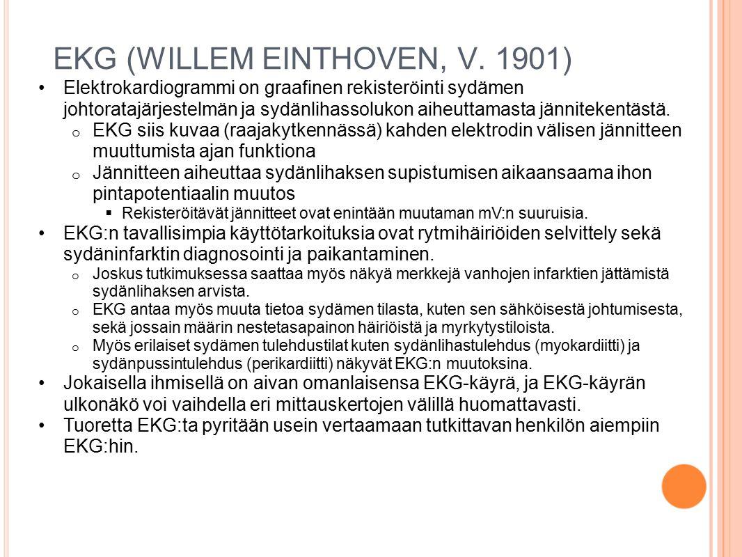 EKG (WILLEM EINTHOVEN, V. 1901)