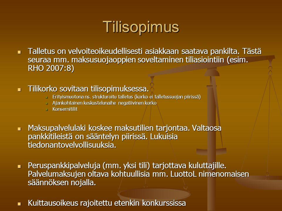 Tilisopimus