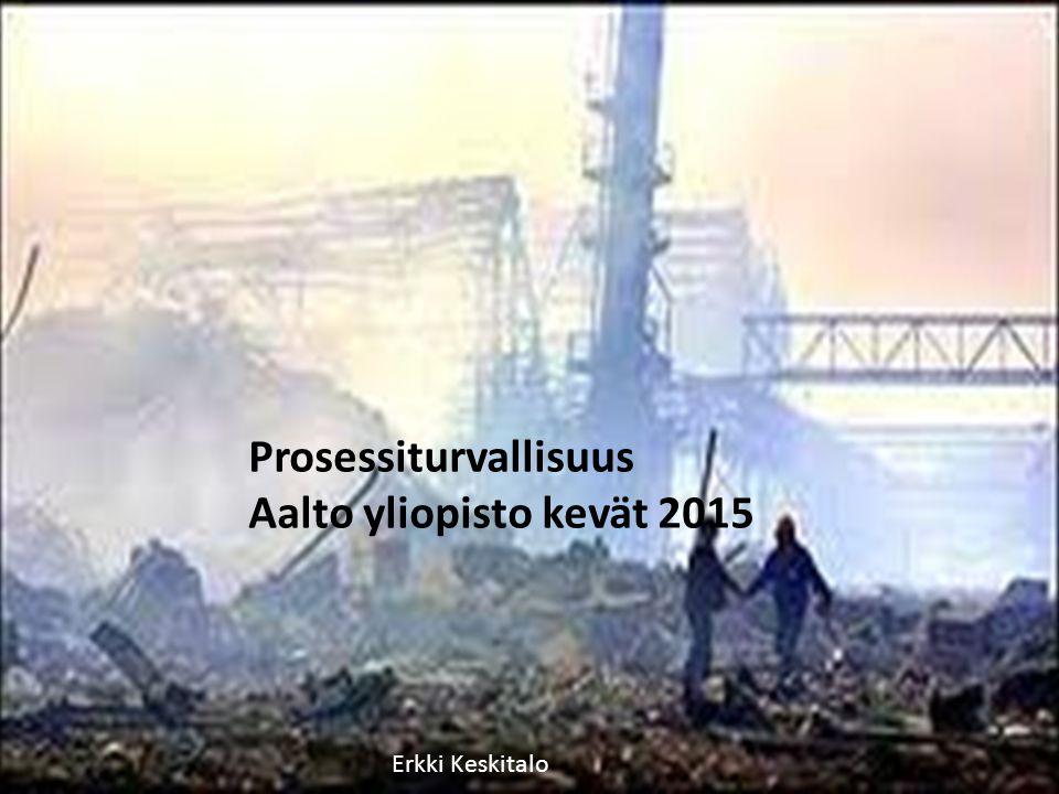 Prosessiturvallisuus Aalto yliopisto kevät ppt lataa