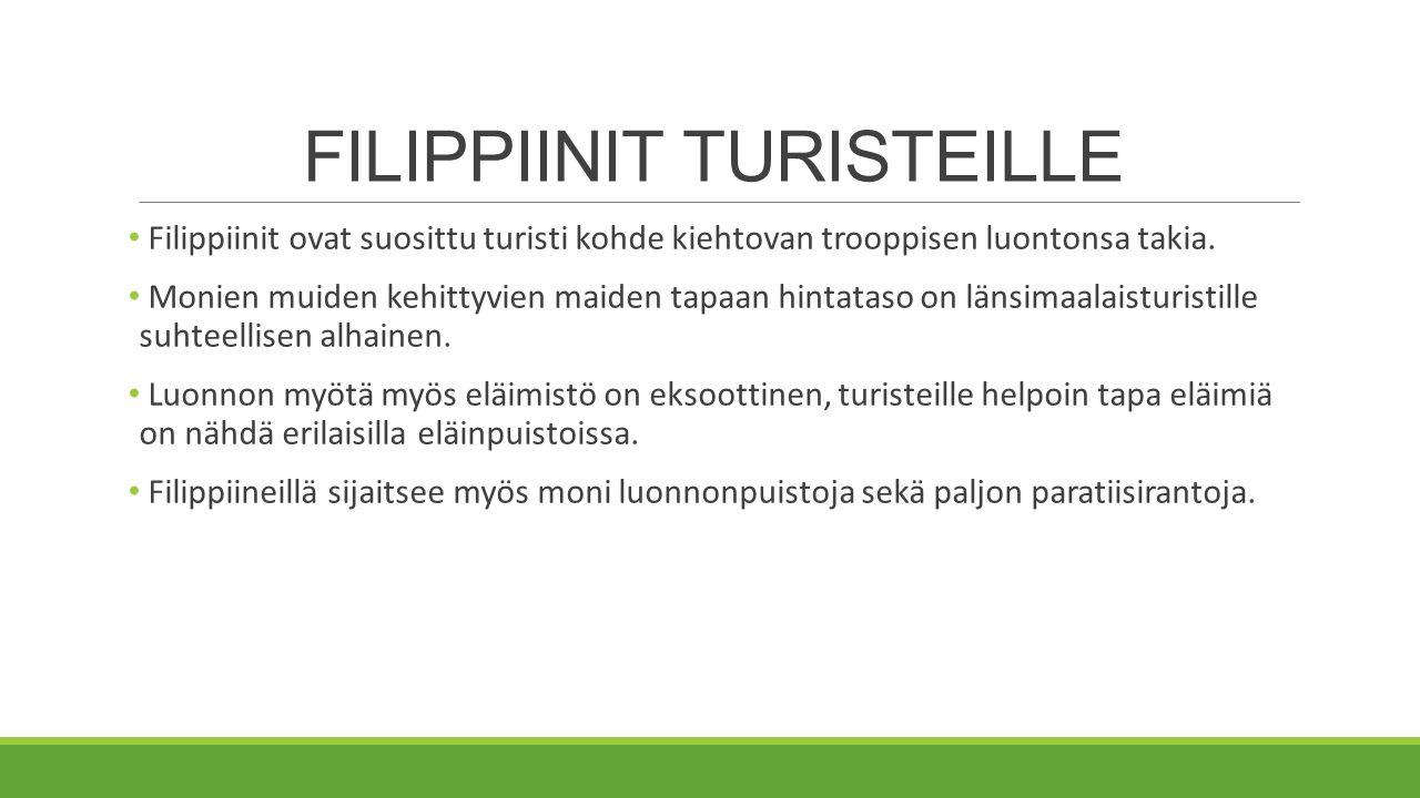 FILIPPIINIT TURISTEILLE