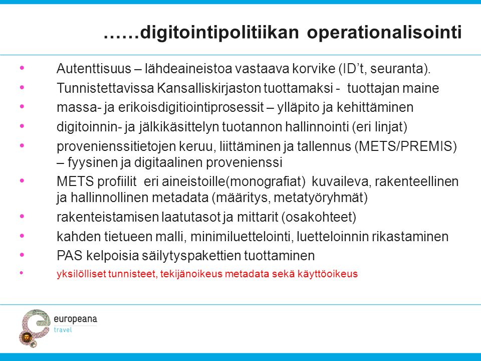 ……digitointipolitiikan operationalisointi