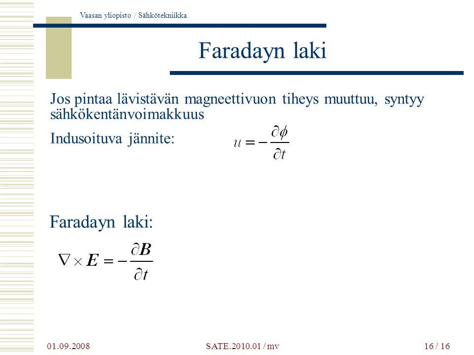 Faradayn laki Faradayn laki: