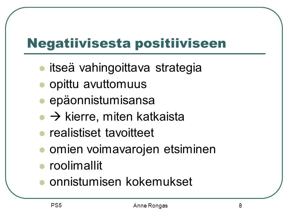 Negatiivisesta positiiviseen