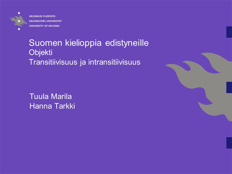 Tuula Marila Hanna Tarkki