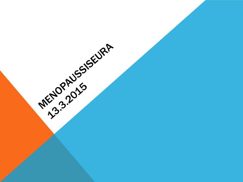Menopaussiseura 13.3.2015