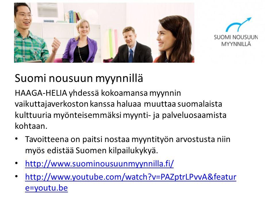 Suomi nousuun myynnillä