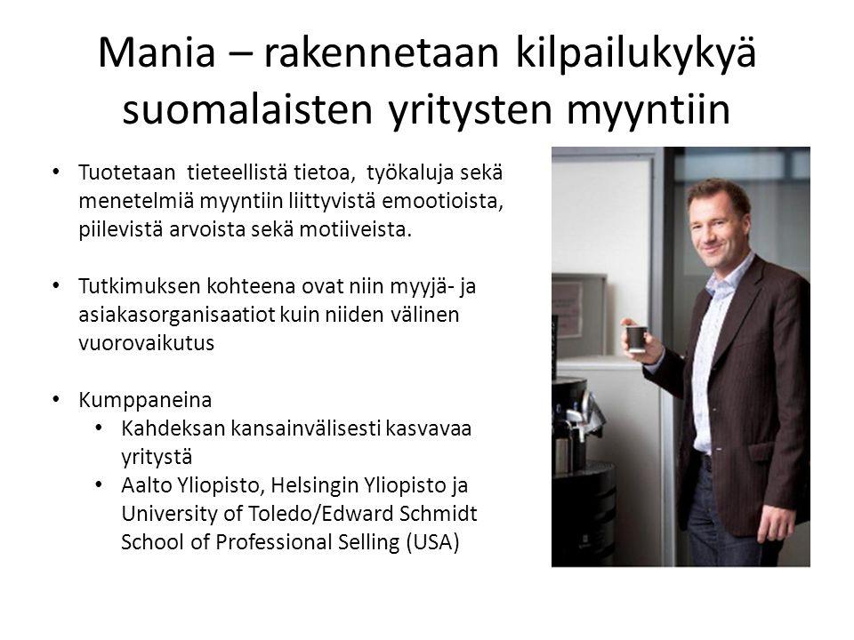 Mania – rakennetaan kilpailukykyä suomalaisten yritysten myyntiin