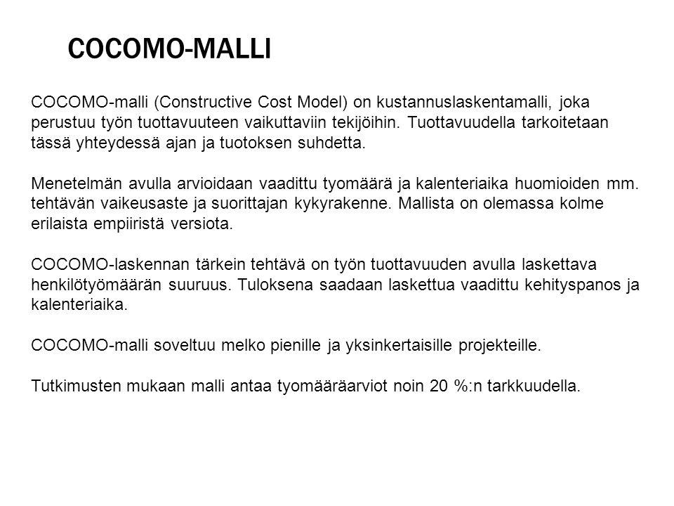 COCOMO-malli