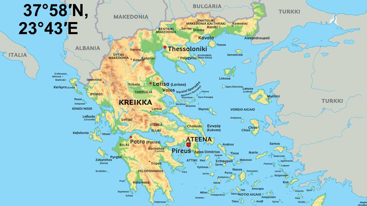Kartta Ateena Kartta