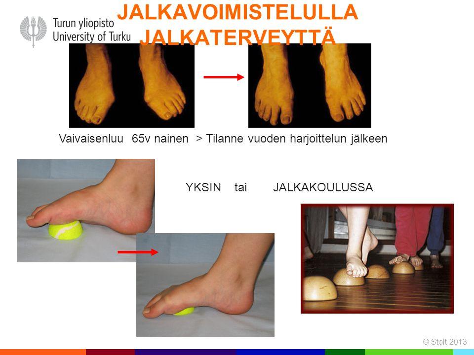 Jalkavoimistelulla jalkaterveyttä