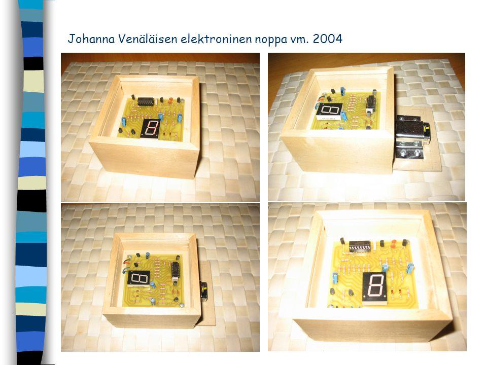 Johanna Venäläisen elektroninen noppa vm. 2004