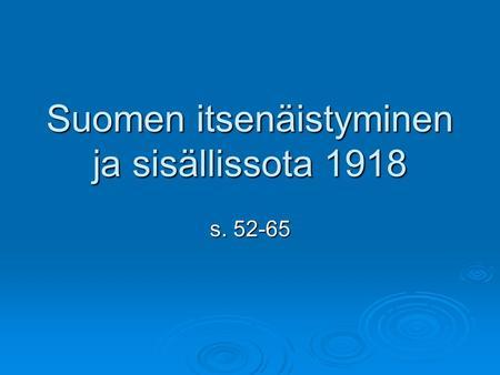 Suomen keskiaika n s Ristiretket Ristiretkien syitä: Talous: verot, kaupankäynti ja mm ...