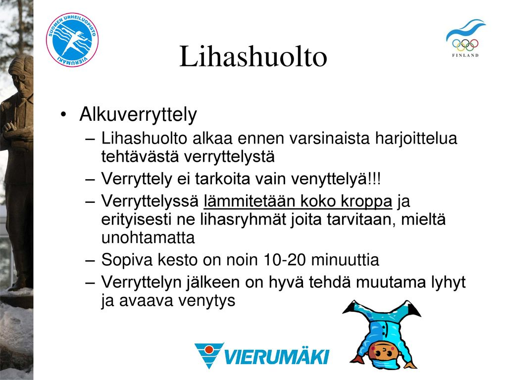 Lihashuolto Alkuverryttely