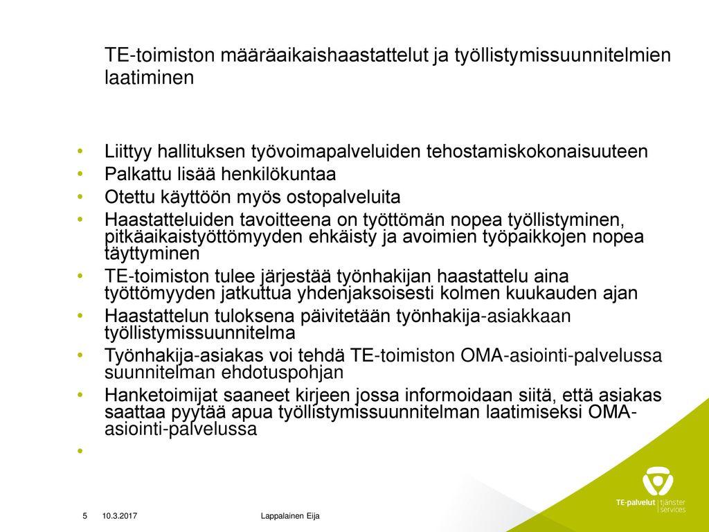 Henkilöasiakkaan Oma asiointi -palveluun kirjautuminen muuttunut Suomi.fi-tunnistamiseen