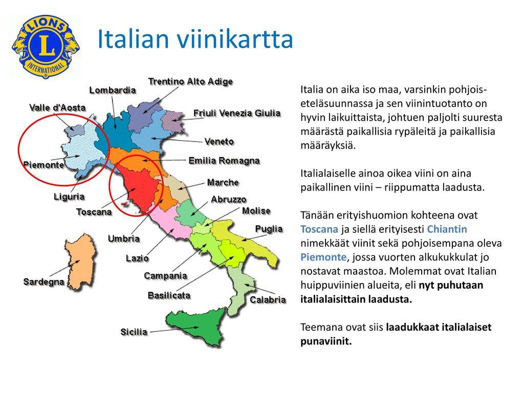 Toscana E Piemonte La Bella Italia Benvenuti Ppt Lataa