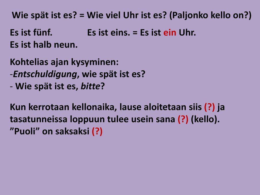 dating lauseita saksaksi