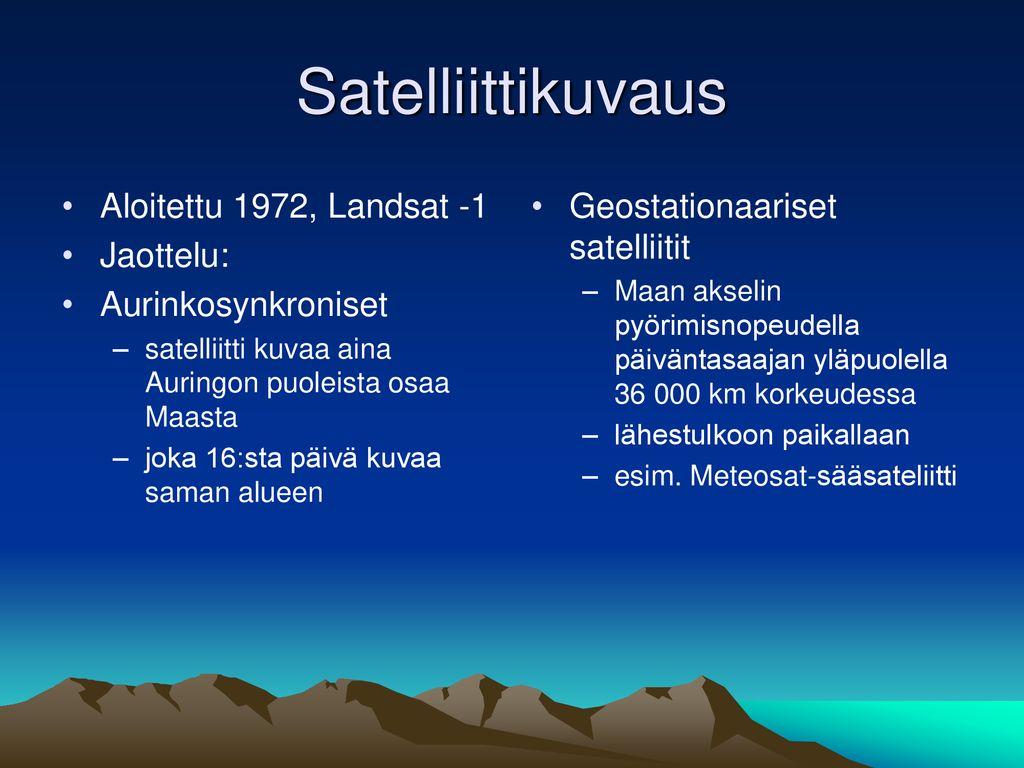 Kartan Laadinta Maastotyona Ppt Lataa