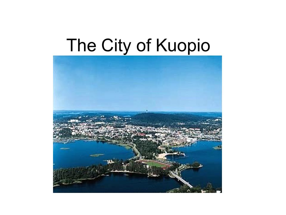 The City of Kuopio