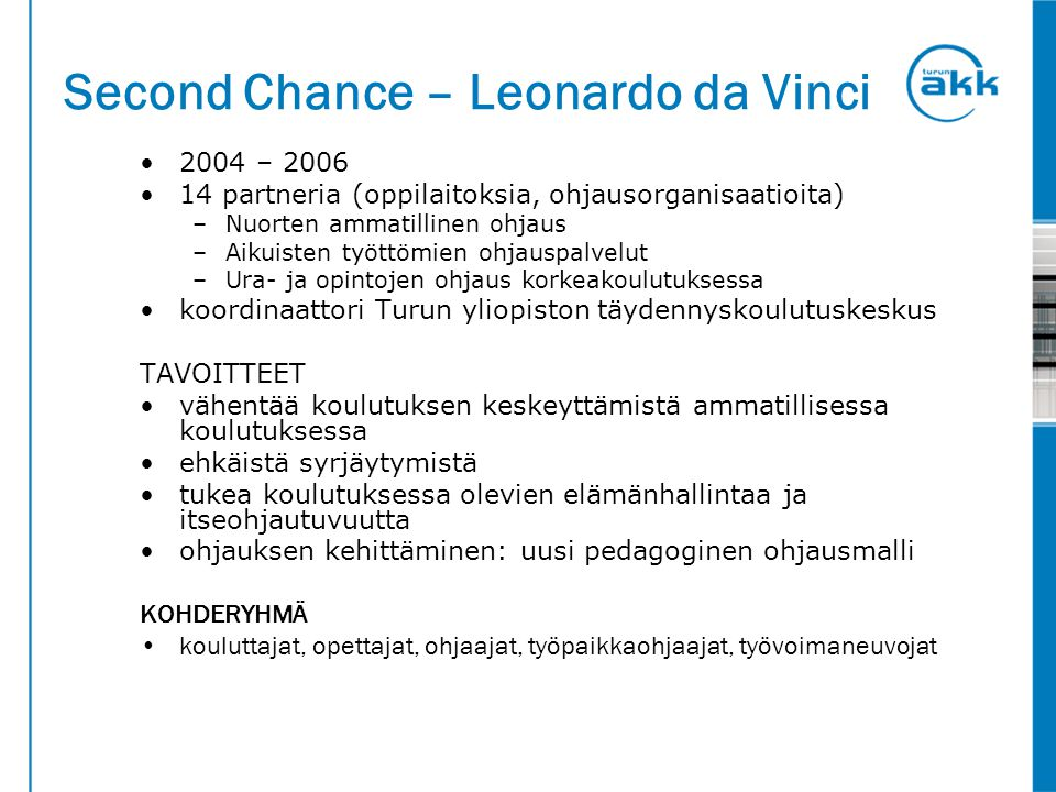 Second Chance – Leonardo da Vinci