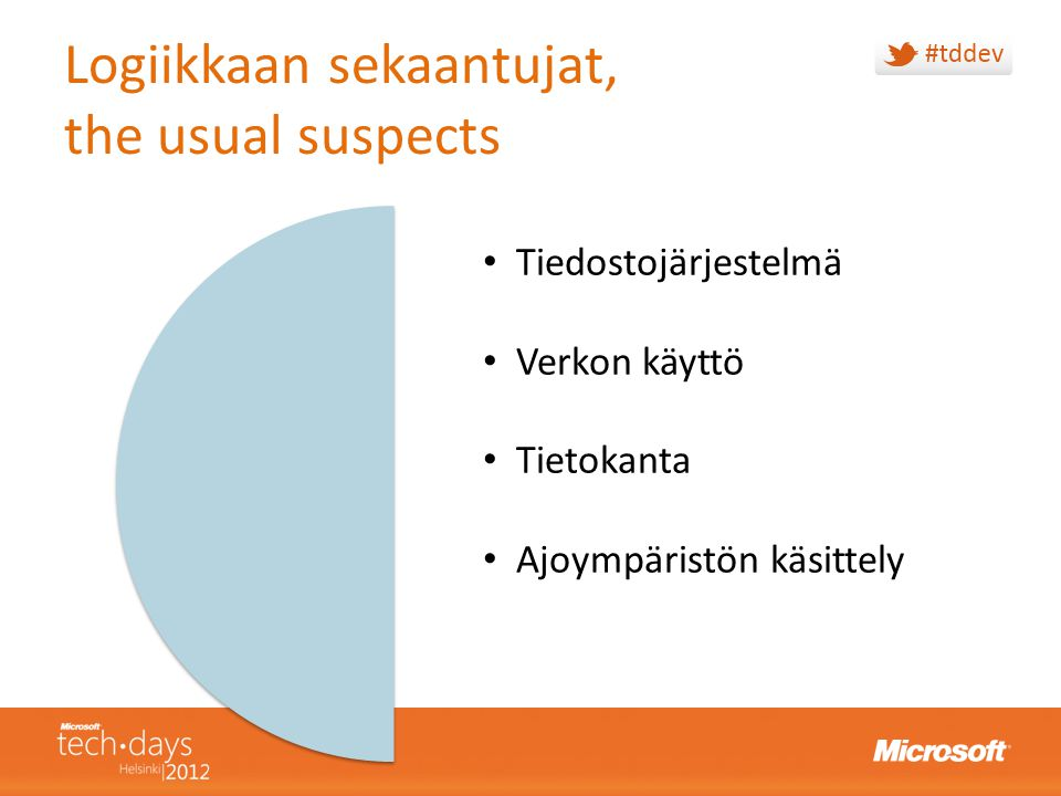 Logiikkaan sekaantujat, the usual suspects