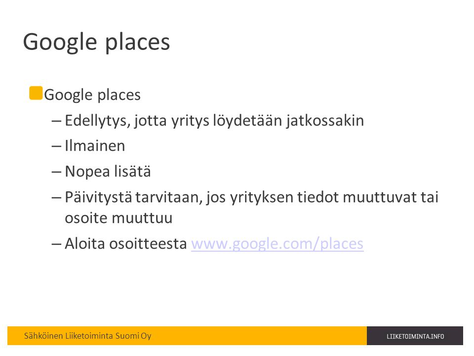Google places Google places