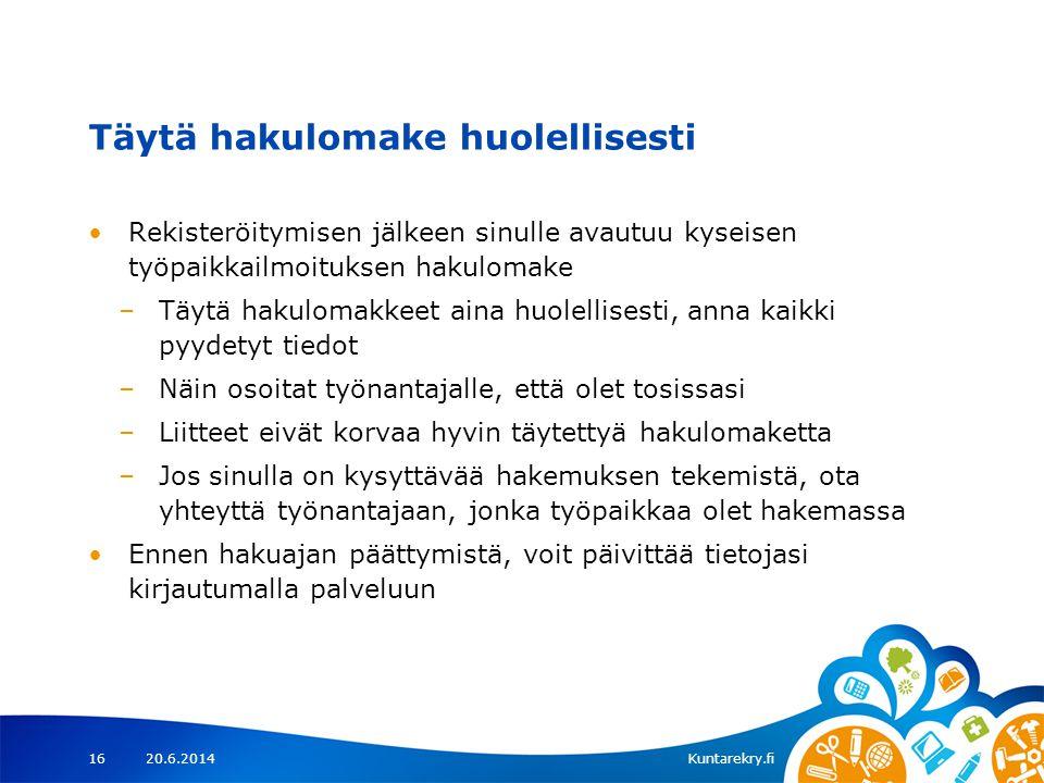 kun etsit työtä – Kuntarekry.fi - ppt lataa 771359365d
