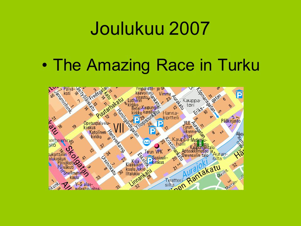 The Amazing Race in Turku