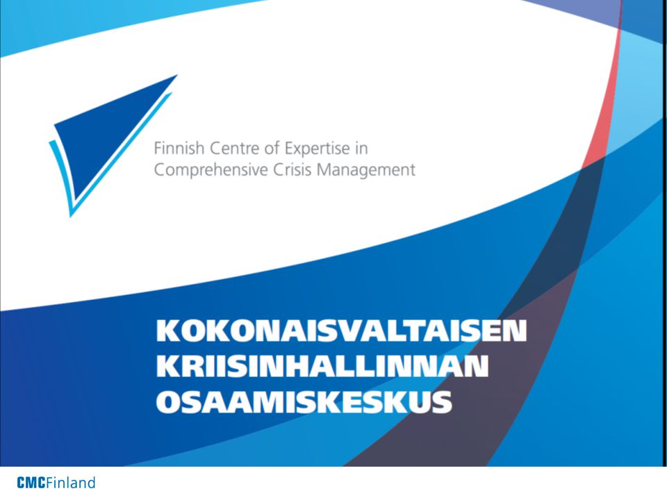 Finnish Centre of Expertise in Comprehensive Crisis Management