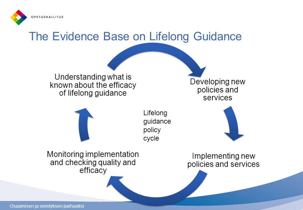 The Evidence Base on Lifelong Guidance