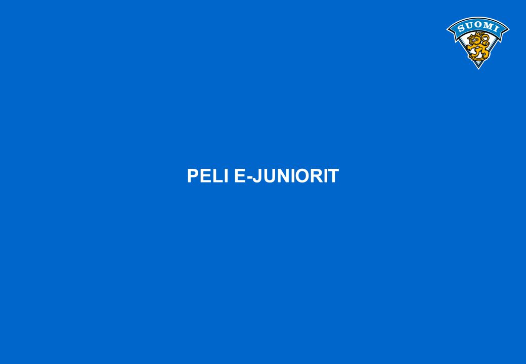 PELI E-JUNIORIT