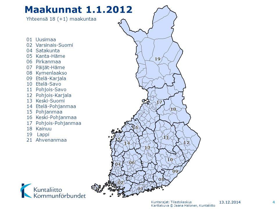 Suomelle Uusi Jalkikoloniaalinen Aluehallintomalli Uusi Suomi
