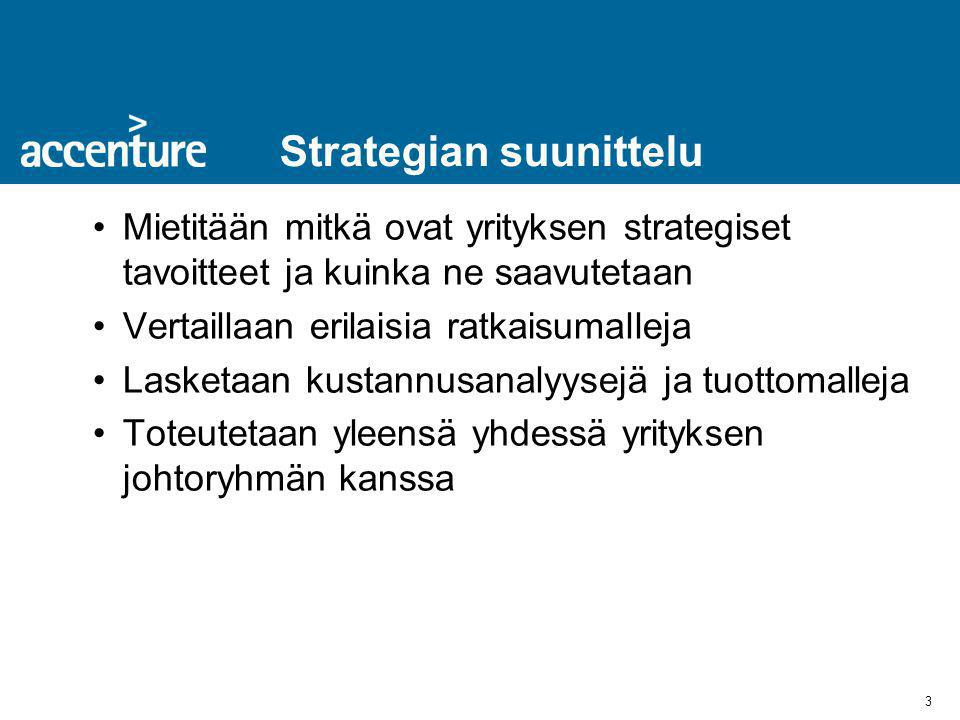 Strategian suunittelu