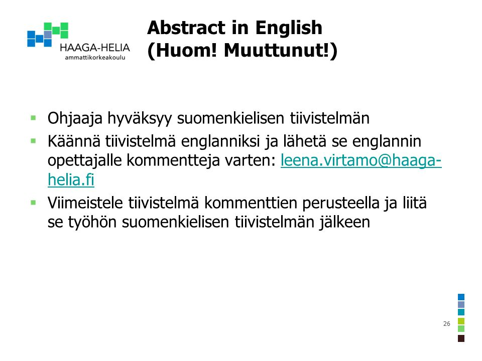 Suomi englanniksi